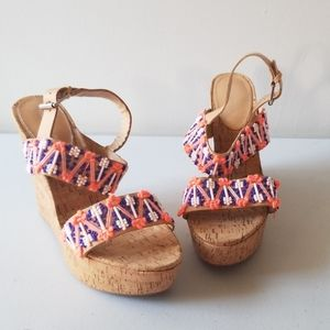Rebecca Taylor Beaded Wedges